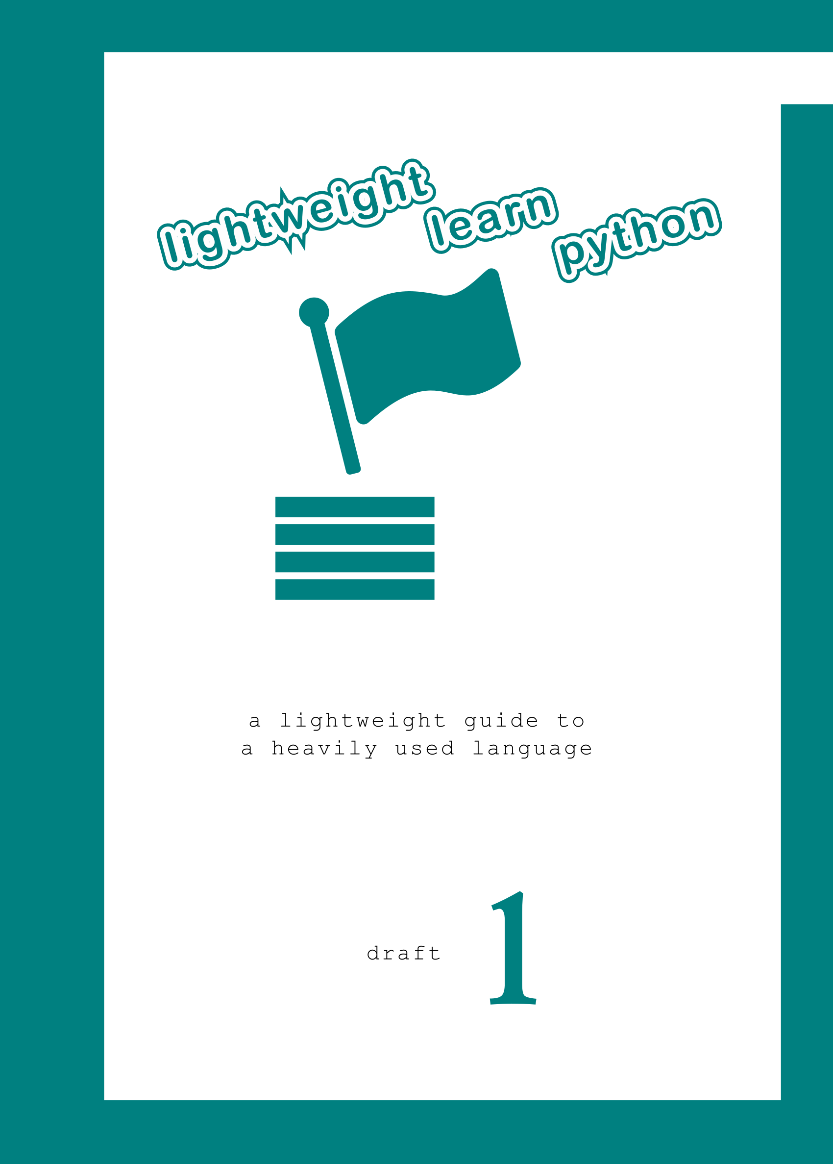 New Book by Us : Lightweight Learn Python