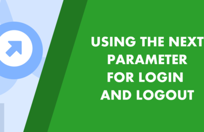 How to correctly use the next parameter in login and logout in Flask